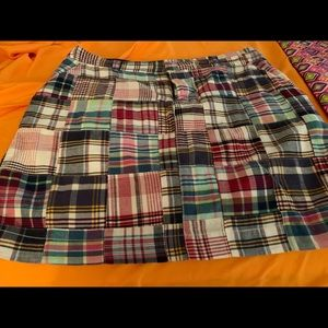 NWOT Madras JRSkirt. Purchased Macy . Never worn.